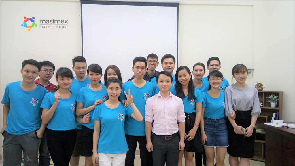 Lớp học nghiệp vụ xuất nhập khẩu tại Masimex