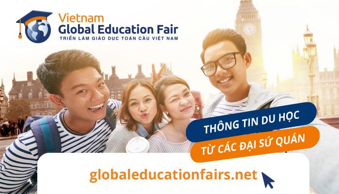 Triển lãm giáo dục toàn cầu global education fairs vietnam 2019