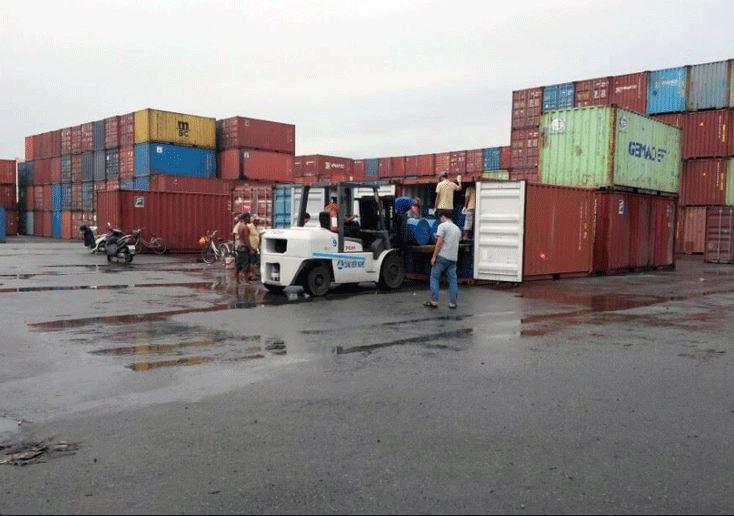 Thủ tục xin rút container hàng xuất khẩu ra khỏi cảng Cát Lái